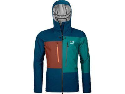 Ortovox 3L Deep Shell Jacket M petrol blue