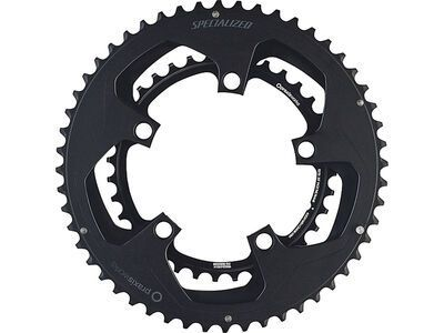 Specialized Praxis Chainrings - 50/34 w/notch, black - Kettenblatt