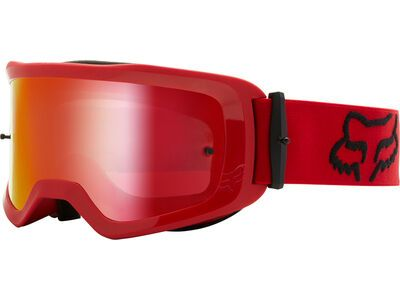 Fox Main Stray Goggle Spark, flame red/Lens: spark mir lex - MX Brille