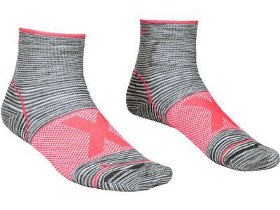 Ortovox Alpinist Quarter Socks W grey blend