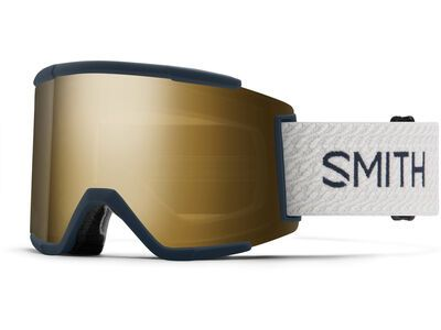 Smith Squad XL inkl. WS, french navy mod/Lens: cp sun black gold mir - Skibrille