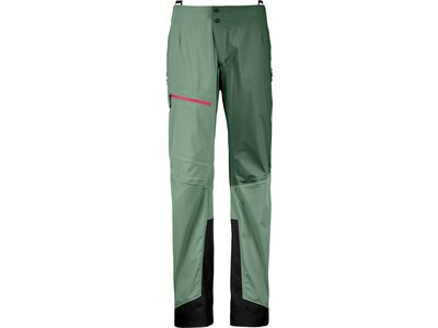 Ortovox 3L Merino Naked Sheep Ortler Pants W, green isar - Skihose