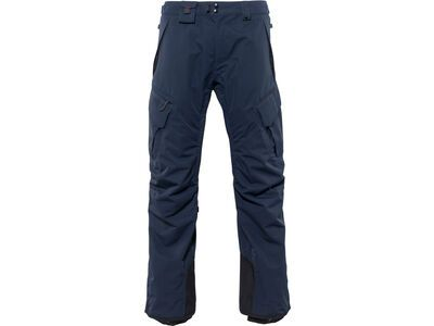 686 Men's Smarty 3-In-1 Cargo Pant, navy - Snowboardhose