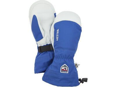 Hestra Army Leather Heli Ski Mitt, royal blue - Skihandschuhe