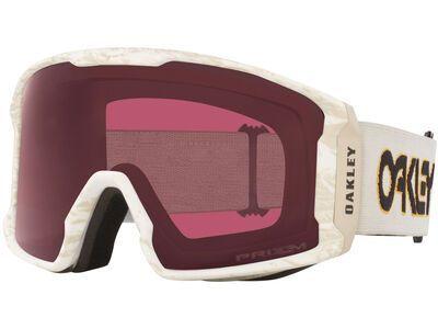 Oakley Line Miner XL Prizm Stale Sandbech Signature, Lens: dark grey - Skibrille