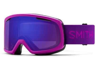 Smith Riot inkl. WS, fuchsia/Lens: cp everyday violet mir - Skibrille