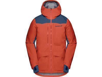 Norrona tamok Gore-Tex Pro Jacket M's, rooibos tea - Skijacke