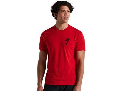 Specialized S-Logo Tee flo red