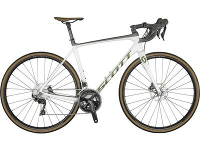 Scott Addict 20 Disc 2021, white/prism - Rennrad