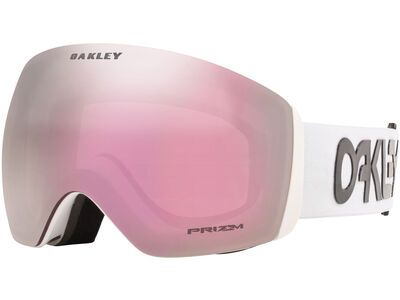 Oakley Flight Deck XL Prizm Factory Pilot, white/Lens: hi pink iridium - Skibrille