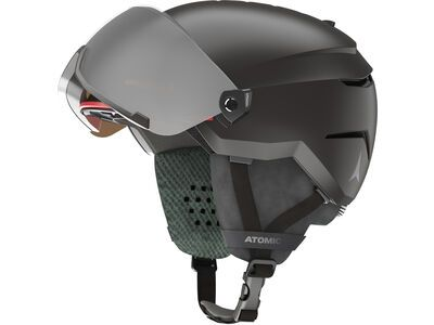 Atomic Savor Visor JR, black - Skihelm