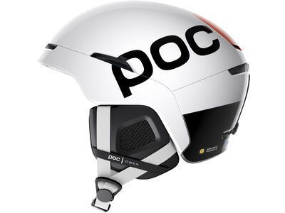 POC Obex Backcountry SPIN, hydrogen white/fluo orange - Skihelm