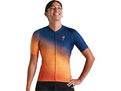 Specialized Women's SL Shortsleeve Jersey orange/dark blue