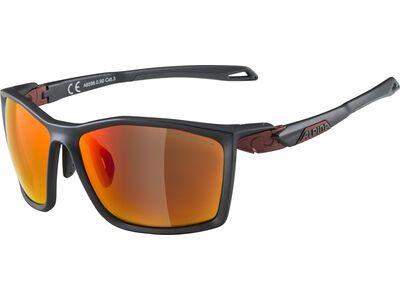 Alpina Twist Five CM+, indigo matt-cherry/Lens: ceramic mirror red - Sportbrille