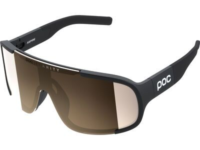 POC Aspire Brown/Clarity Silver uranium black