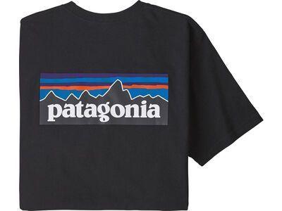 Patagonia Men's P-6 Logo Responsibili-Tee, black - T-Shirt