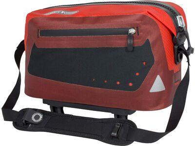 Ortlieb Trunk-Bag, rot-schwarz - Gepäckträgertasche