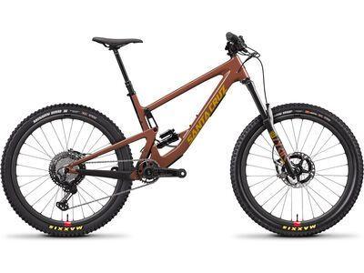 Santa Cruz Bronson CC XTR Reserve 2020, red/yellow - Mountainbike