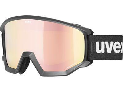 uvex athletic CV mirror rose black mat