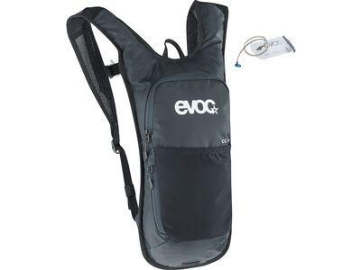 Evoc CC 2l + 2l Bladder, black - Fahrradrucksack