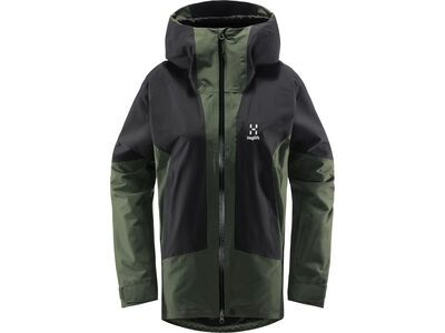Haglöfs Lumi Jacket Women, fjell green/true black - Skijacke