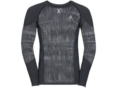Odlo Men's Blackcomb Baselayer Top, black