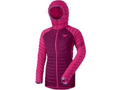Dynafit Radical Down Women Hooded Jacket flamingo