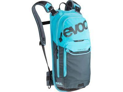 Evoc Stage 6l Team + Hydration Bladder 2l, neon blue - Fahrradrucksack