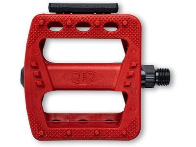 Cube RFR Pedale Flat HQP CMPT red