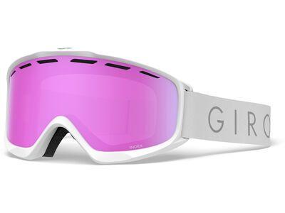 Giro Index, white core light/Lens: vivid pink - Skibrille