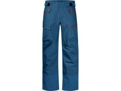 Bergans Hafslo Insulated Pant, stone blue/lava - Skihose