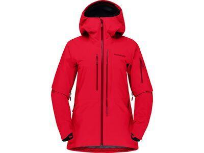 Norrona lofoten Gore-Tex Pro Jacket W's true red