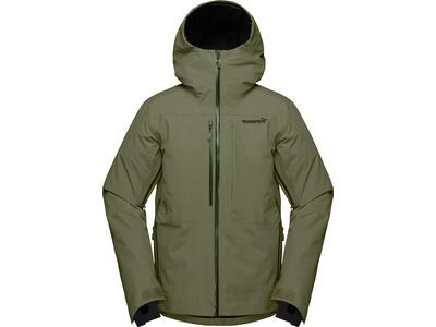 Norrona lofoten Gore-Tex insulated Jacket M's, olive night - Skijacke