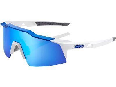 100% Speedcraft SL - HiPER Blue ML Mir matte white/blue