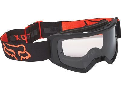 Fox Main Stray Goggle - Clear black/orange