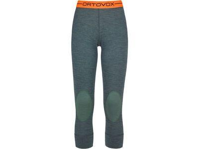 Ortovox 185 Merino Rock'n'Wool Short Pants W, green forest blend - Unterhose