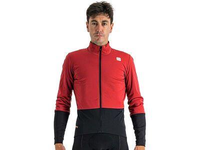Sportful Total Comfort Jacket red rumba black