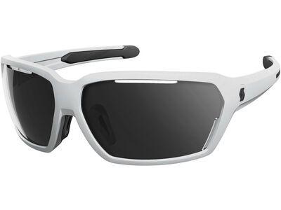 Scott Vector, white matt/black/Lens: grey - Sportbrille