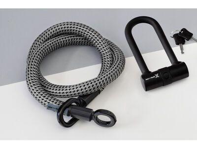 Tex-Lock Tex-Lock Eyelet M 120 cm inkl. X-Lock grau