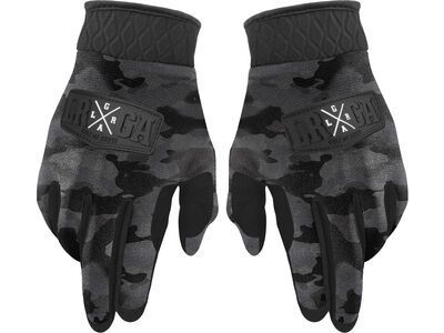Loose Riders Freeride Gloves Camo Charcoal multi color