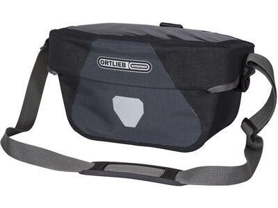 Ortlieb Ultimate Six Plus 5 L - ohne Halterung, granite-black - Lenkertasche