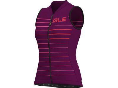 Ale Ergo Lady S/Less Jersey, purple-gerbera - Radtrikot