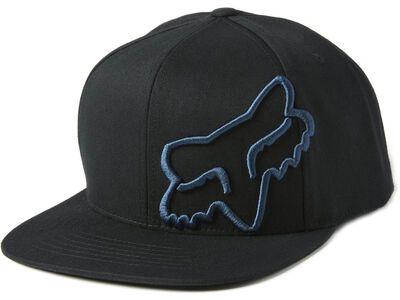 Fox Headers Snapback Hat black/blue
