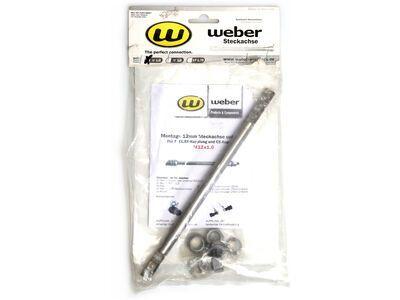 Weber 12mm Steckachse Universal (für E, EL, ES- und CE-Kupplung)