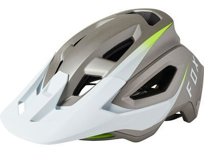 Fox Speedframe Pro Helmet Repeater white