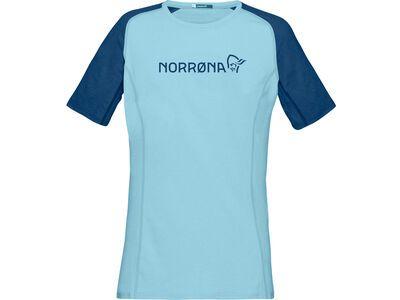 Norrona fjørå equaliser lightweight T-Shirt (W), trick blue - Radtrikot