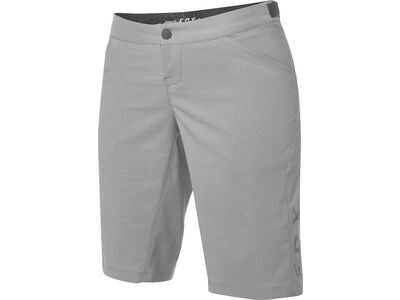 Fox Womens Ranger Short with Liner, pewter - Radhose