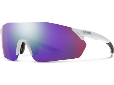 Smith Reverb inkl. WS, mat white/Lens: cp violet mir - Sportbrille
