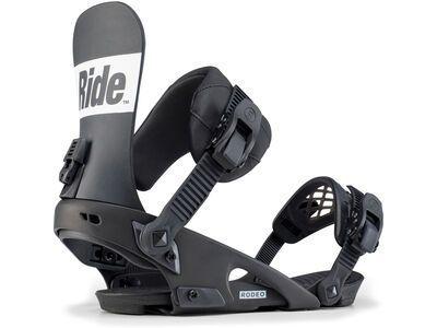 Ride Rodeo 2020, black - Snowboardbindung