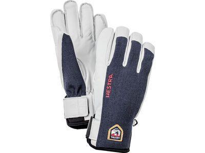 Hestra Army Leather Sastrugi 5 Finger, marine - Skihandschuhe